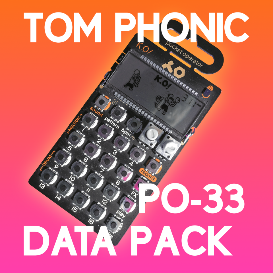 Get My PO-33 Data Pack