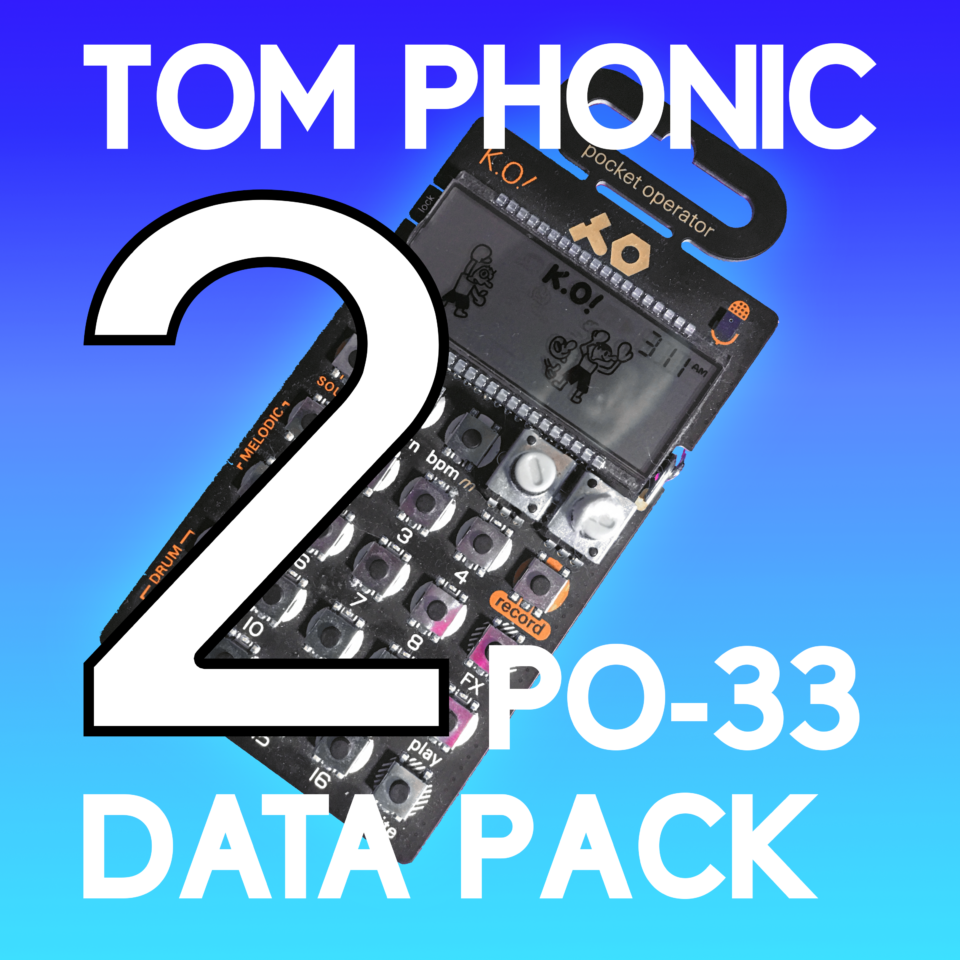 PO-33 Pack is Back