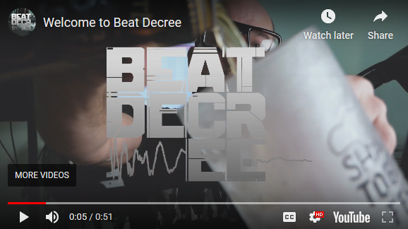 Beat Decree – Videos Up